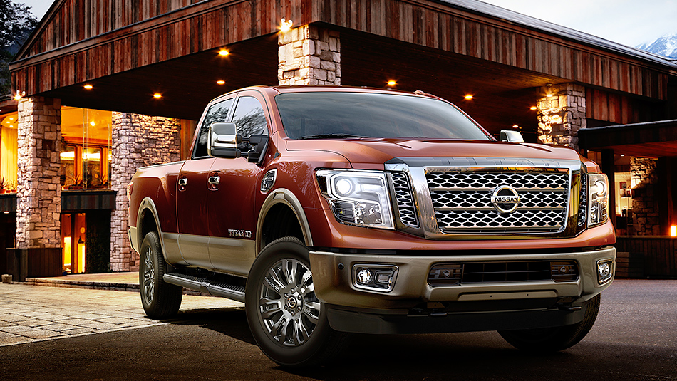 2016-nissan-titan-platinum-reserve-barn-front-view-forged-copper